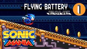 Sonic Mania Flying Battery Zone