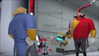 Sonic Boom Season 2 episode 24 Eggman's Brother