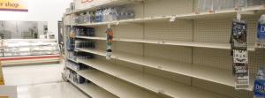 empty shelves slide1 300x111 - Local Water Main Break Demonstrates the Need for Emergency Preparation