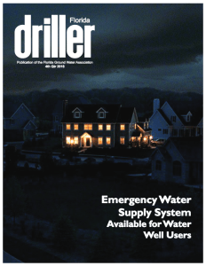 """4th qtr 2016 proof 1b pdf image 232x300 - Constant Water Highlighted in Florida Ground Water Association """"Driller"""" Magazine"""