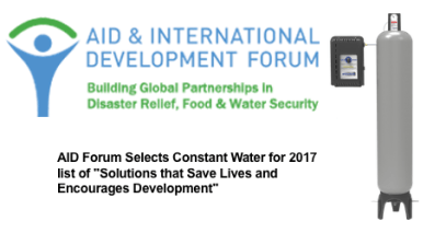 AIDF CW Post Image 300x157 - Aid and International Development Forum Honors Constant Water