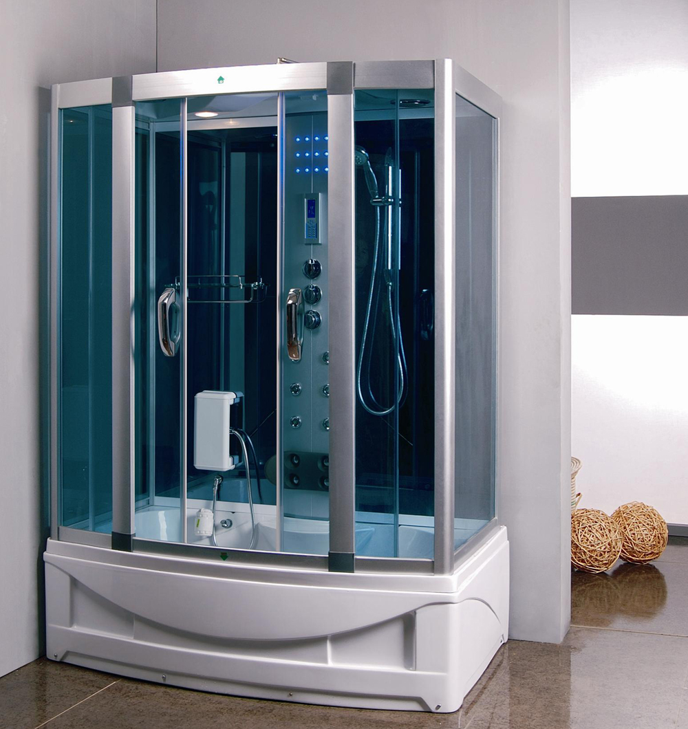 Steam Shower Room With Deep Whirlpool Tub 9004 Constar Usa