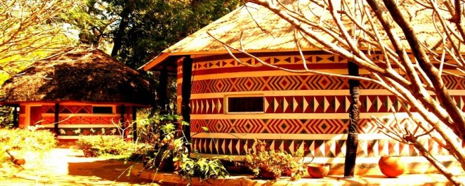African-Hut
