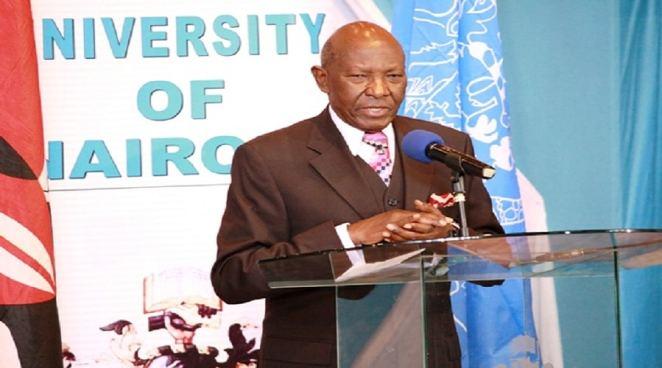 UoN C hancellor, Prof. Joseph Wanjui. photo credit: uonbi.ac.ke