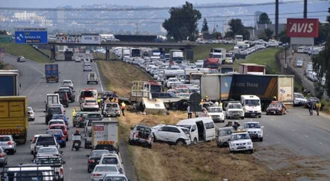 Multiple accident in S/A because of inpatient driving | Photo credits: thedailyvox.co..za