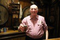 The barman at the Green Dragon