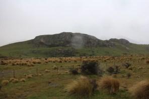 Mt Sunday (Edoras) in the rain