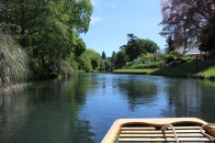 Punting along the River Avon