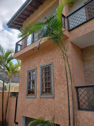Revestimento de residencia em textura projetada