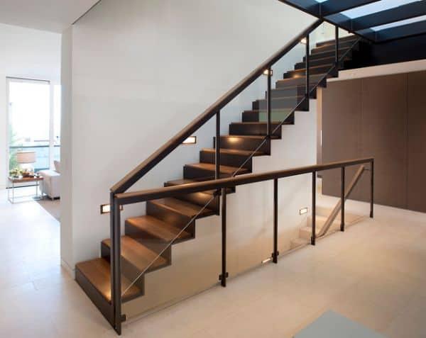 escada moderna e elegante