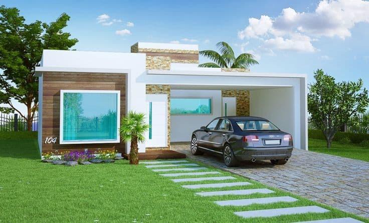 17 ideias de fachada para casas pequenas veja fotos