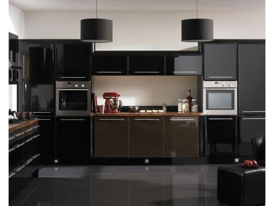 15 como fazer cozinha toda preta piso