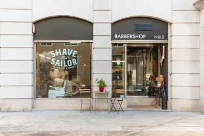 Barbería Shave The Sailor - Calle Eduardo Iglesias - Vigo