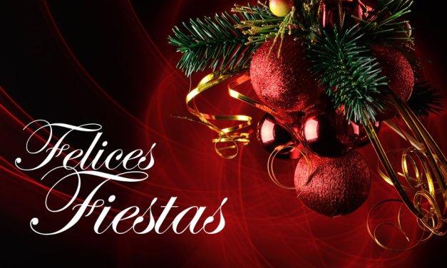 Construcciones R.M.C. les desea Felices Fiestas.