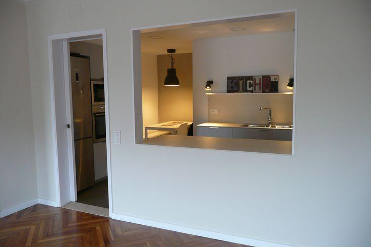 Maneras de dividir espacios construcci n de viviendas y for Separacion cocina salon