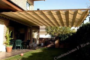 construction and installation of awnings