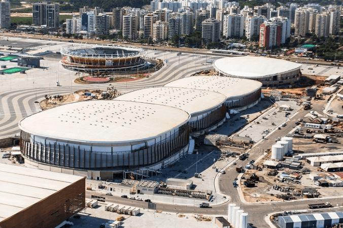 6 obras para as olimp adas 2016 que ainda n o est o prontas for Design hotels arena