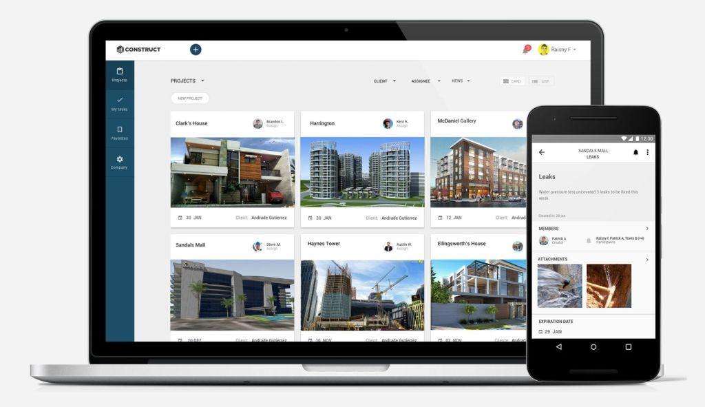 inovação na construção civil: Construct App