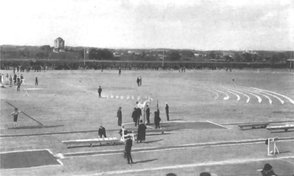 Estádio Francis Field, St. Louis, (Estados Unidos), 1904