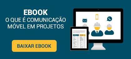 comunicação móvel em projetos