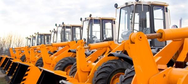 Locação de equipamentos para a construção civil