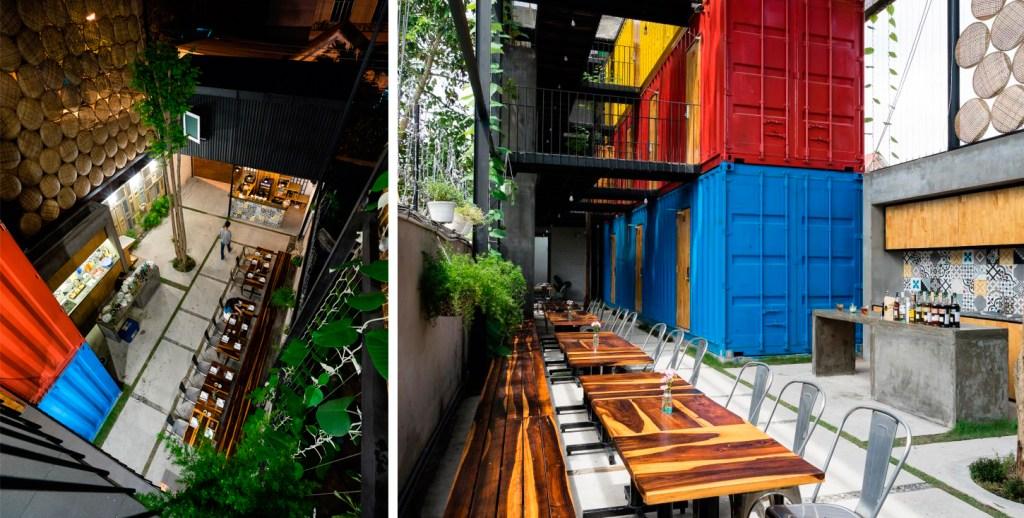 9 incríveis construções com containers reciclados