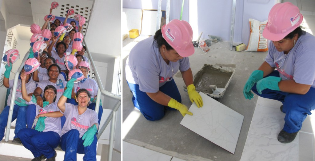 A presença da mulher na construção civil