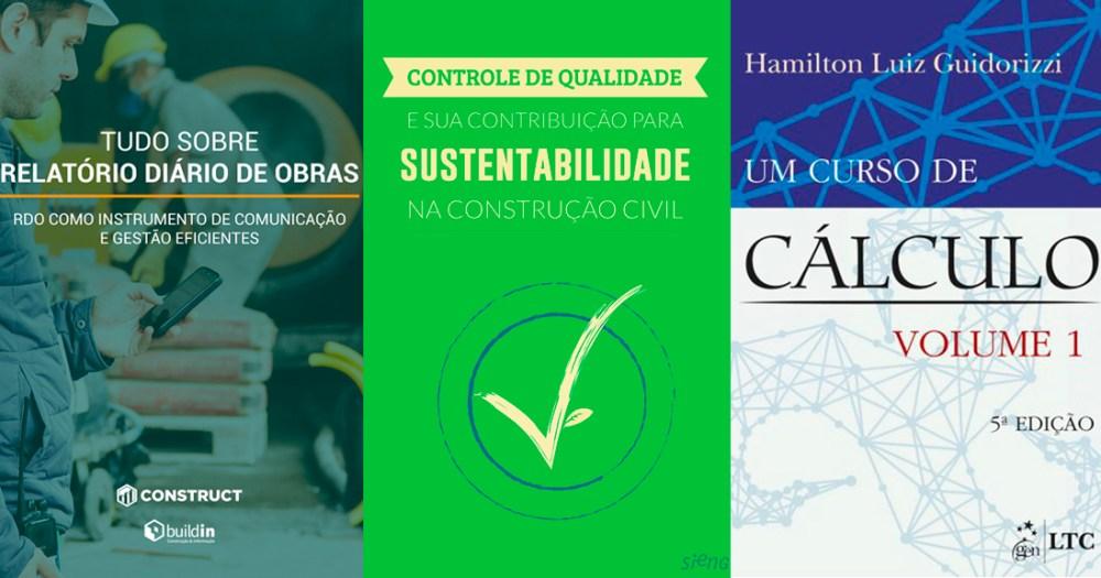 7 ebooks gratuitos para engenheiros civis