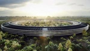 Grandes construções: a nova sede da Apple