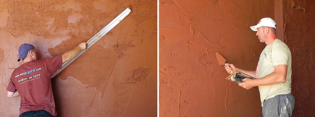 materiais sustentáveis - argamassa de argila