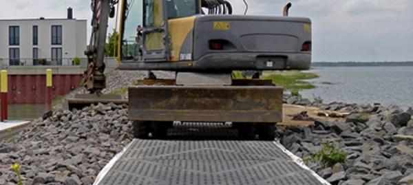 Tecnologia na construção civil: caminhos plásticos