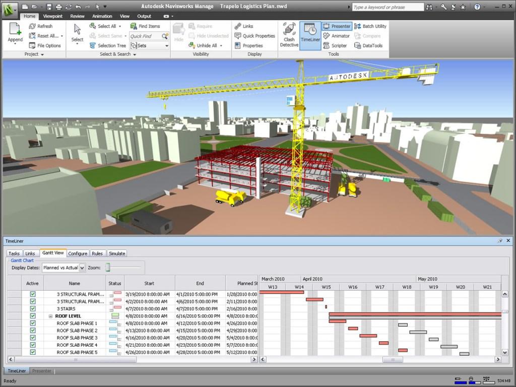 planejamento de obras | navisworks