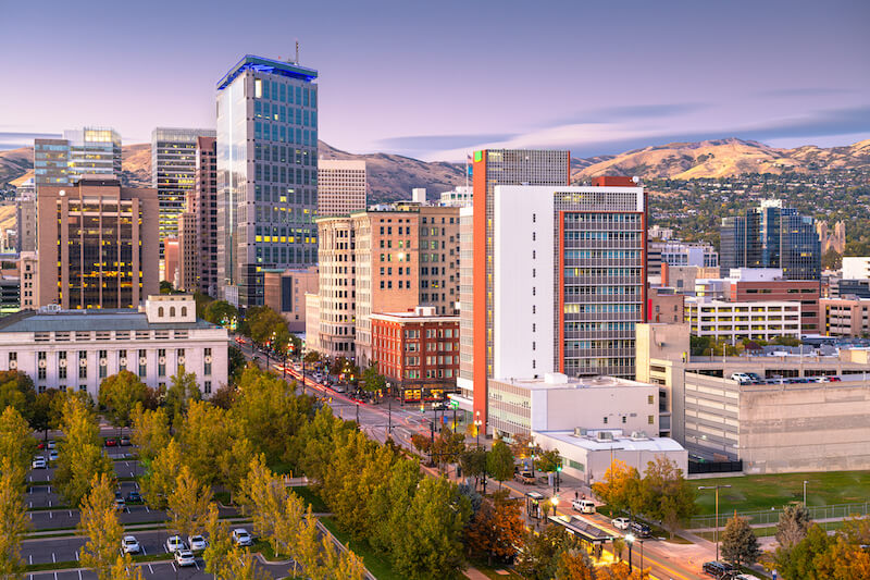 A picture of Salt Lake City