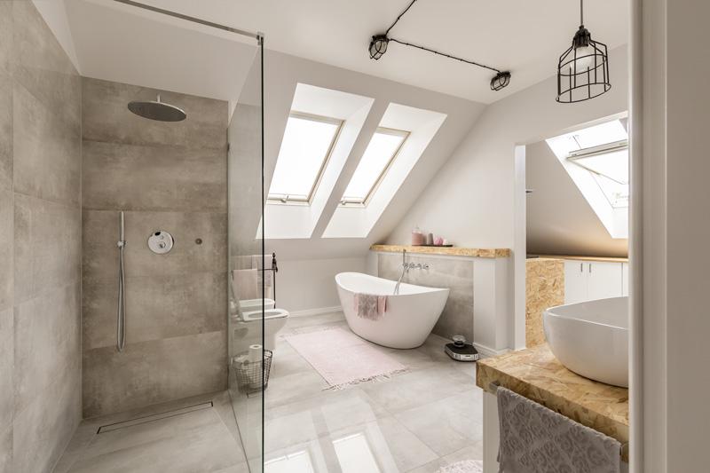 la salle de bain avec douche italienne comment faire a quel prix constructeur travaux