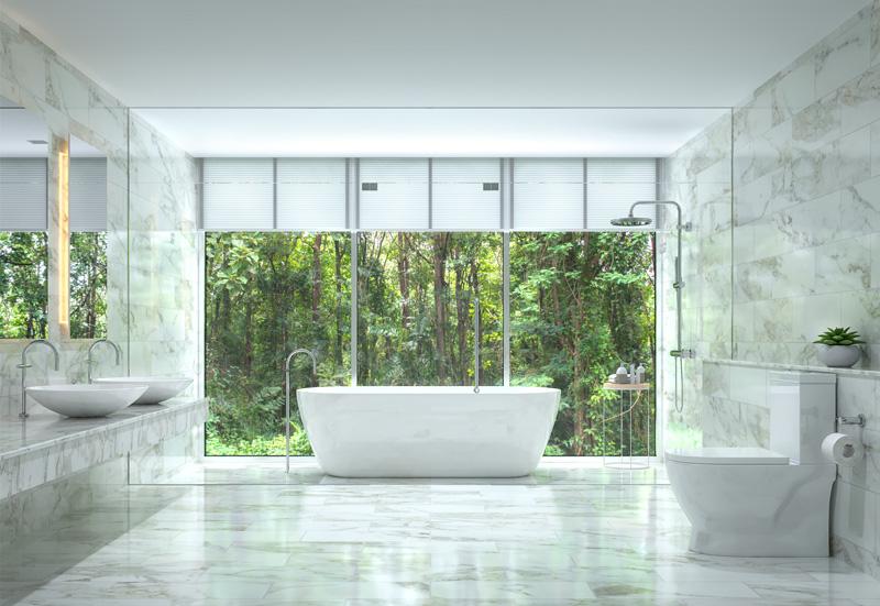 la salle de bain en marbre prix cout avantages
