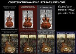 Walking Bass Lines Books