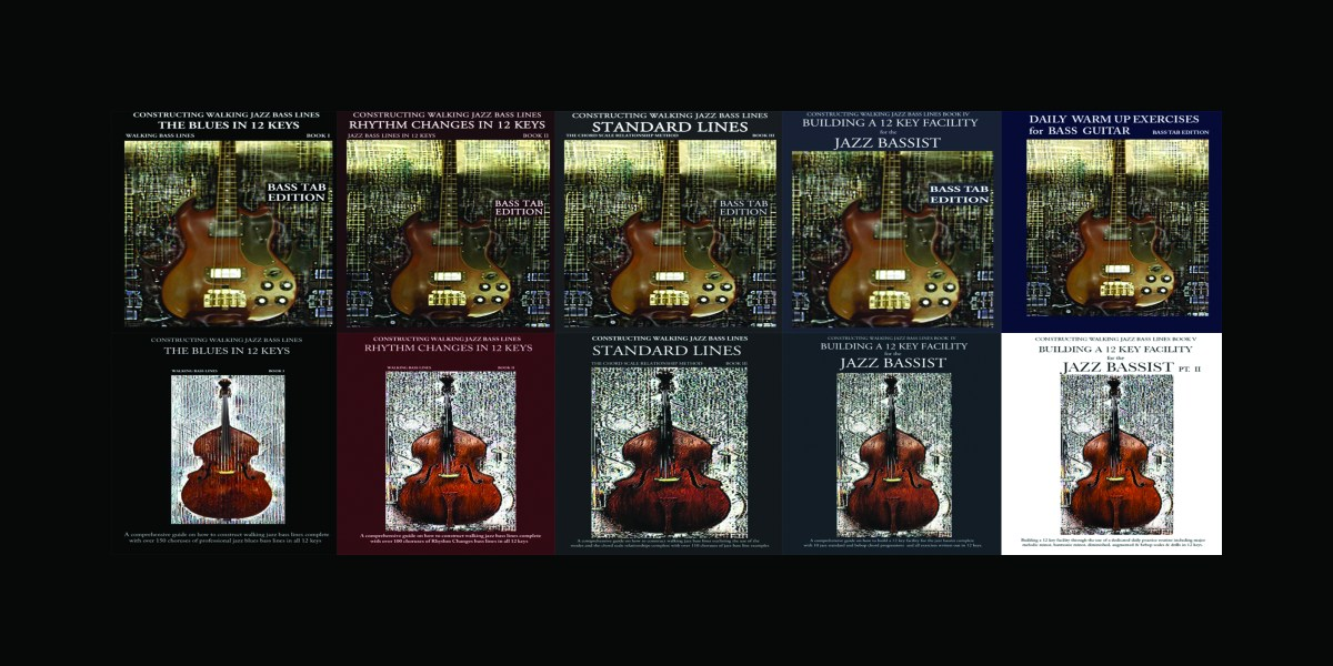 jazz bass book and lesson promo