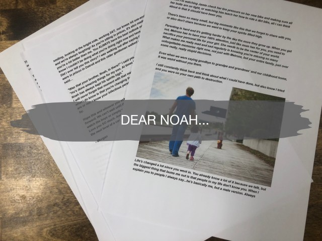A Letter To Prisoner My Brother