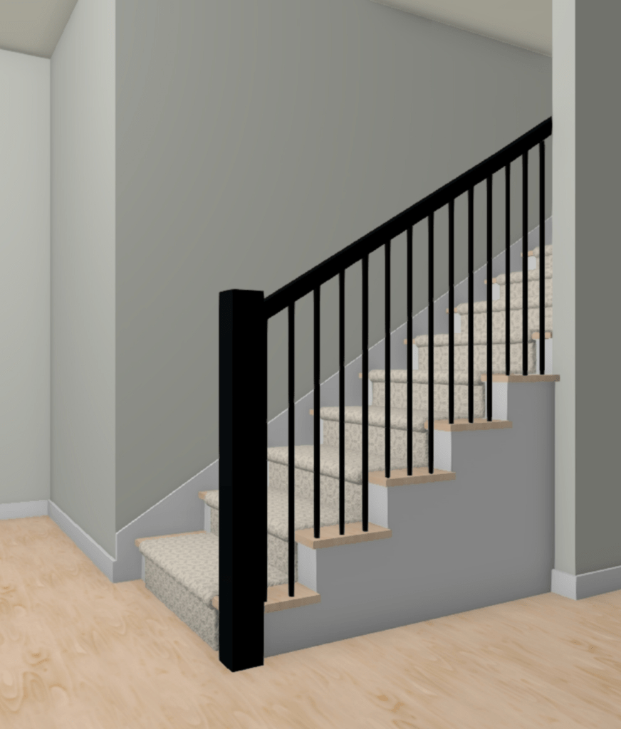 Bye Bye Bye Poopy Carpet Construction2Style   White Stairs With Carpet   Chocolate Brown   Oak   Solid Colour   Colour   Landing