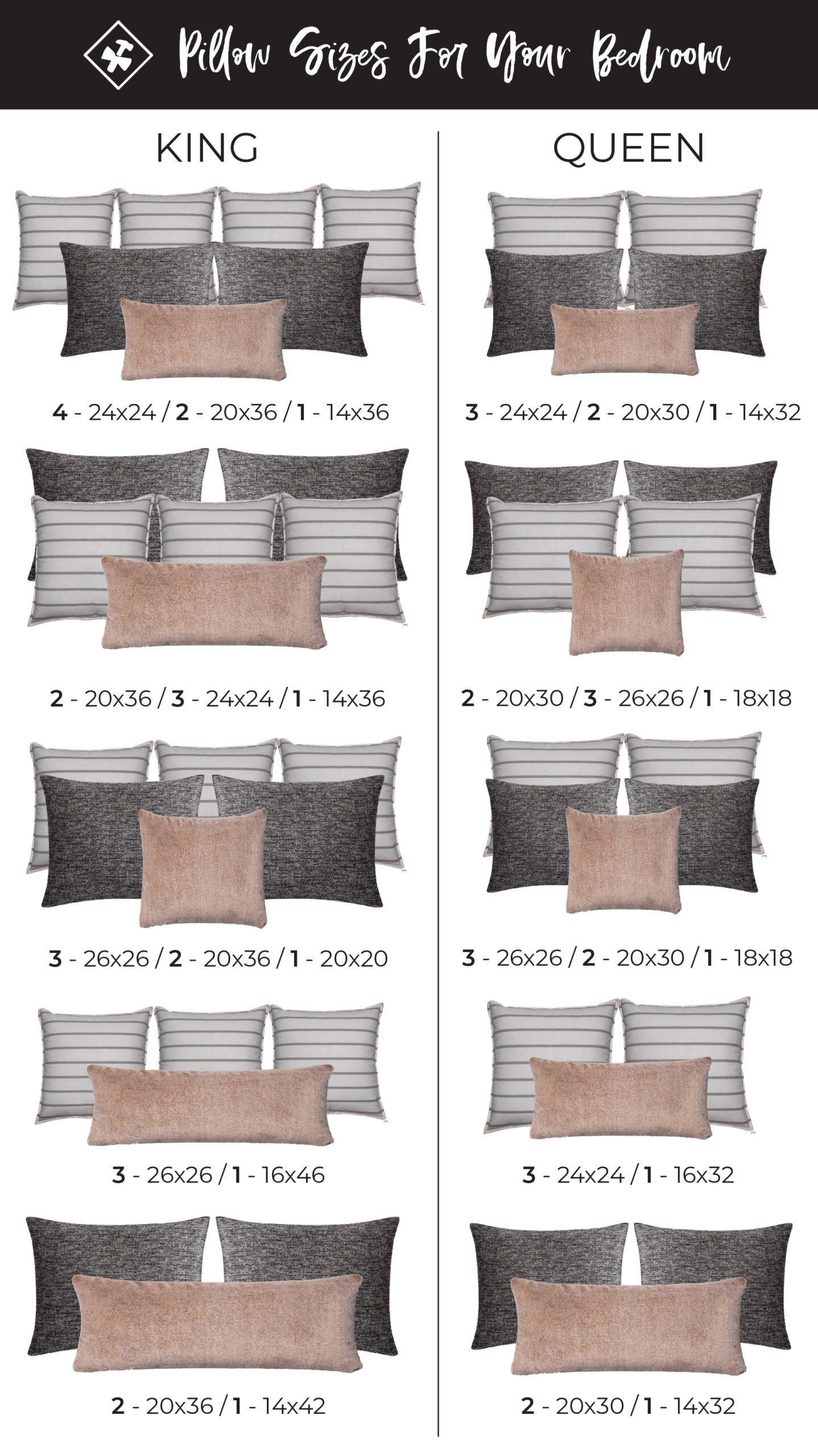 pillow sizing guide construction2style