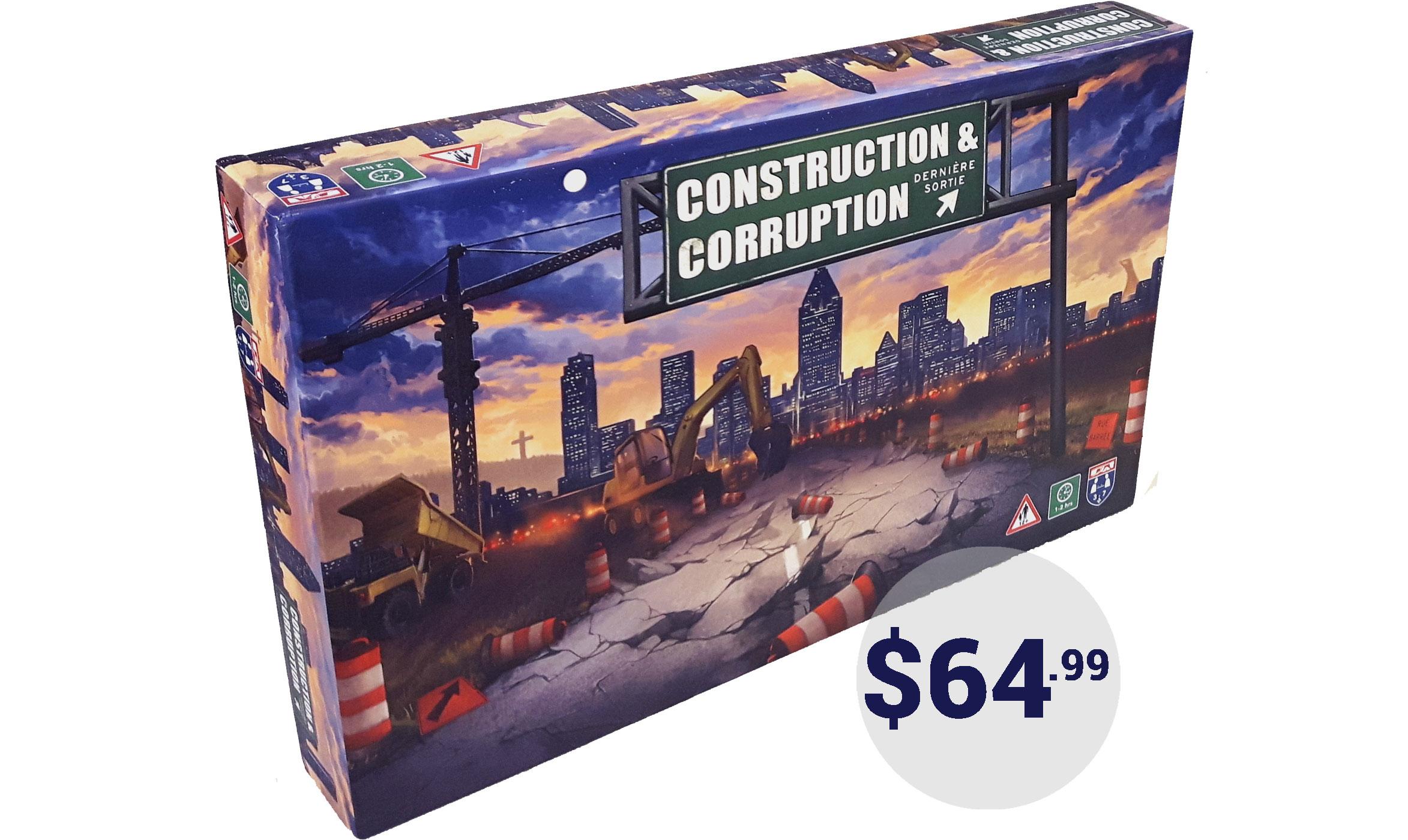 Construction + Corruption