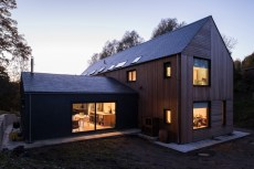Contemporary detached house in Morpeth, Northumberland.