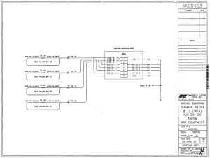 wiring diagram terminal block #12