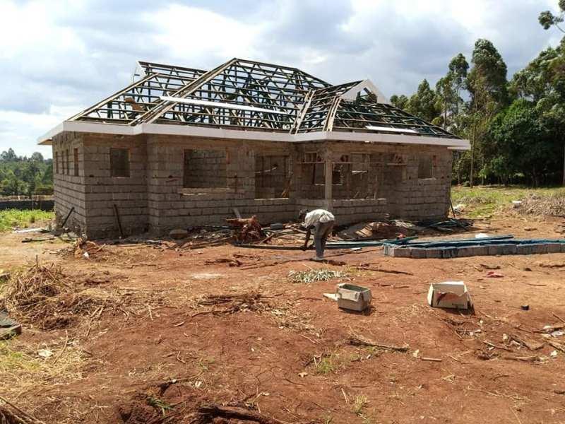 3 bedroom bungalow plans in Kenya