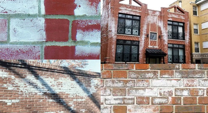 About the Efflorescence on Brick masonry, its causes and treatment techniques