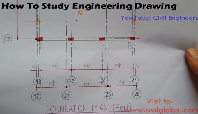 Some useful tips to read civil engineering drawings efficiently
