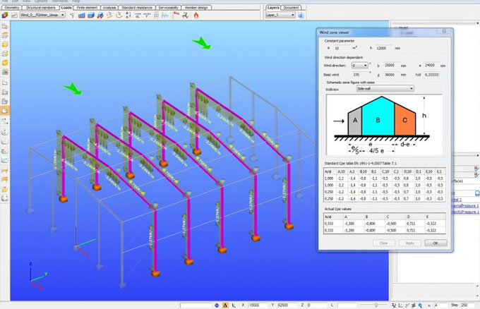 ConSteel – A powerful structural Analysis software for steel & composite structures