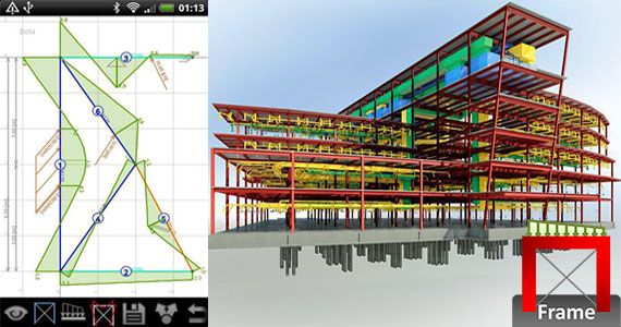FrameDesign – An exclusive construction app for 2D frames design