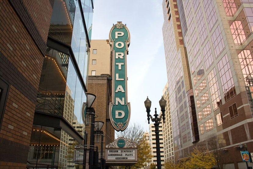 Oregon Portland B5XDD2