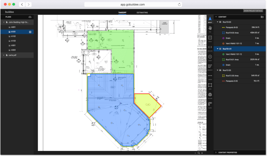 Buildee Features